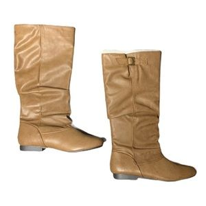 Aeropostale Brown Tall Riding Boots